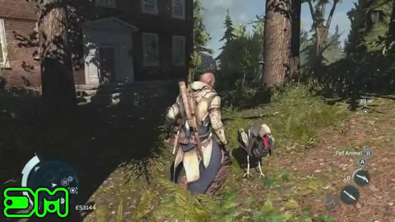 Assassin's Creed 3 - Assassin Turkey Easter Egg - YouTube