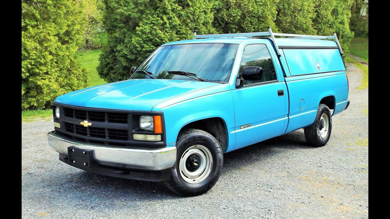 One owner 1994 chevy cheyenne c1500 w t start up full tour and review