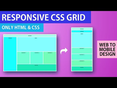 Responsive CSS Grid