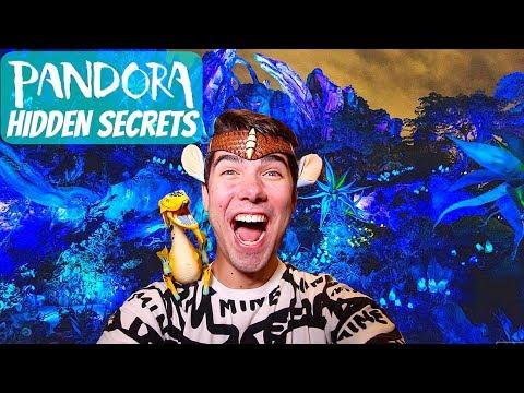 HIDDEN PANDORA SECRETS AT THE WORLD OF AVATAR IN DISNEY WORLD'S ANIMAL KINGDOM