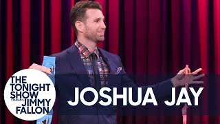 Magician Joshua Jay Helps Jimmy Read His Audience's Minds