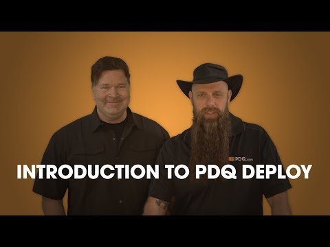 Introduction to PDQ Deploy