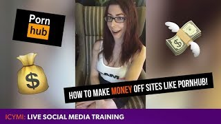 TUTORIAL: How to make money off tube sites like Pornhub!