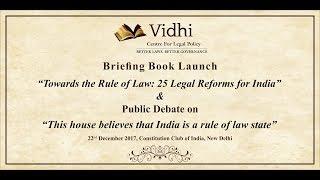 Briefing Book Launch & Public Debate