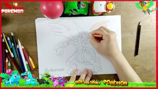 How To Draw Zekrom POKEMON step by step | Drawings Pokemon | Easy Speed Drawing charizard chibi kids