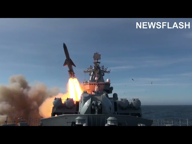 Russian Cruiser Fires 10,000 lbs Missile At Target In Pacific Ocean Amid Growing Tension With US