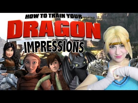 Dreamworks How To Train Your Dragon Impressions  Madi2theMax