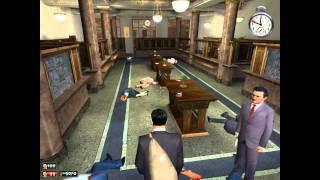 Mafia - bank robbery - gameplay - part 106 - HD - CZ - Melouch - bankovní loupež