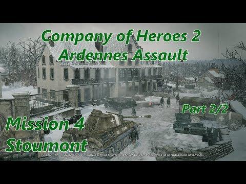 COH2 Ardennes Assault: Mission 4 Stoumont (Part 2/2) (General)