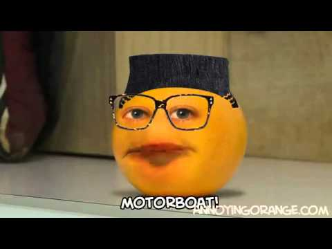 Annoying Orange   U Can't Squash This   Chipmunk Version   YouTube