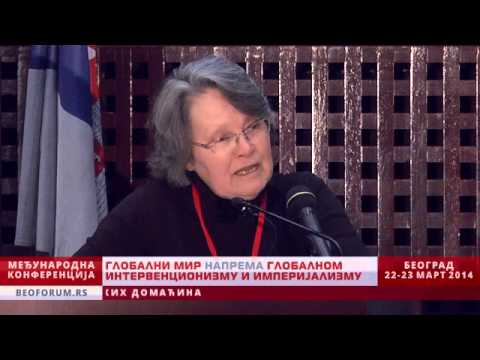 JUNE KELLY  (IRELAND) - (Global Peace vs. Global Interventionism and Imperialism)