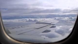 Ту-154 посадка в г Новый Уренгой, плотная облачность