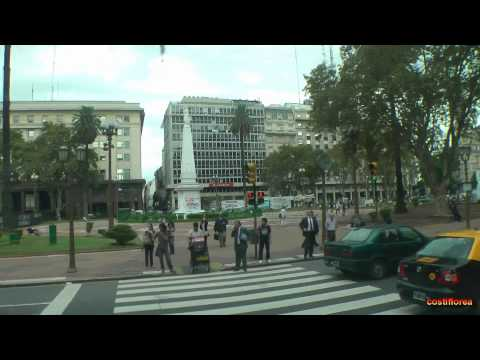 Argentina - Buenos Aires,Bus tour - South America part 32 - Travel video HD