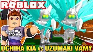 Roblox | UCHIHA KIA ĐẠI CHIẾN VỚI UZUMAKI VAMY - Naruto Tycoon | KiA Phạm