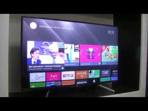 Телевизор Sony KDL-43WF805 обзор и настройка