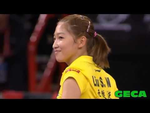 Tribute to Liu Shiwen - Queen of amazing rallies(刘诗雯)
