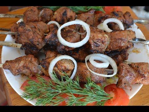 Как мариновать шашлык без уксуса!!! Шашлык из свинины!!! Сочный и очень вкусный!