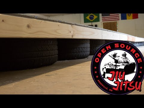 Sprung Floor With Tires ::: Open Source Jiu-Jitsu