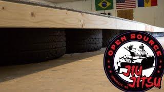 Sprung Floor with Tires ::: Open Source Jiu-Jitsu