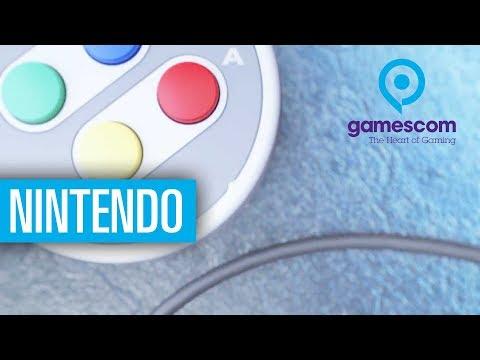 Gamescom - Nintendo SNES Mini, Skyrim-Switch und mehr - Besuch bei Nintendo auf der Gamescom