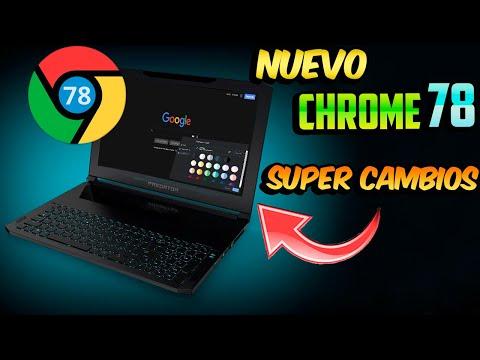 Nuevo  Google CHROME 78 / Modo Oscuro FORZADO Y Más NOVEDADES!