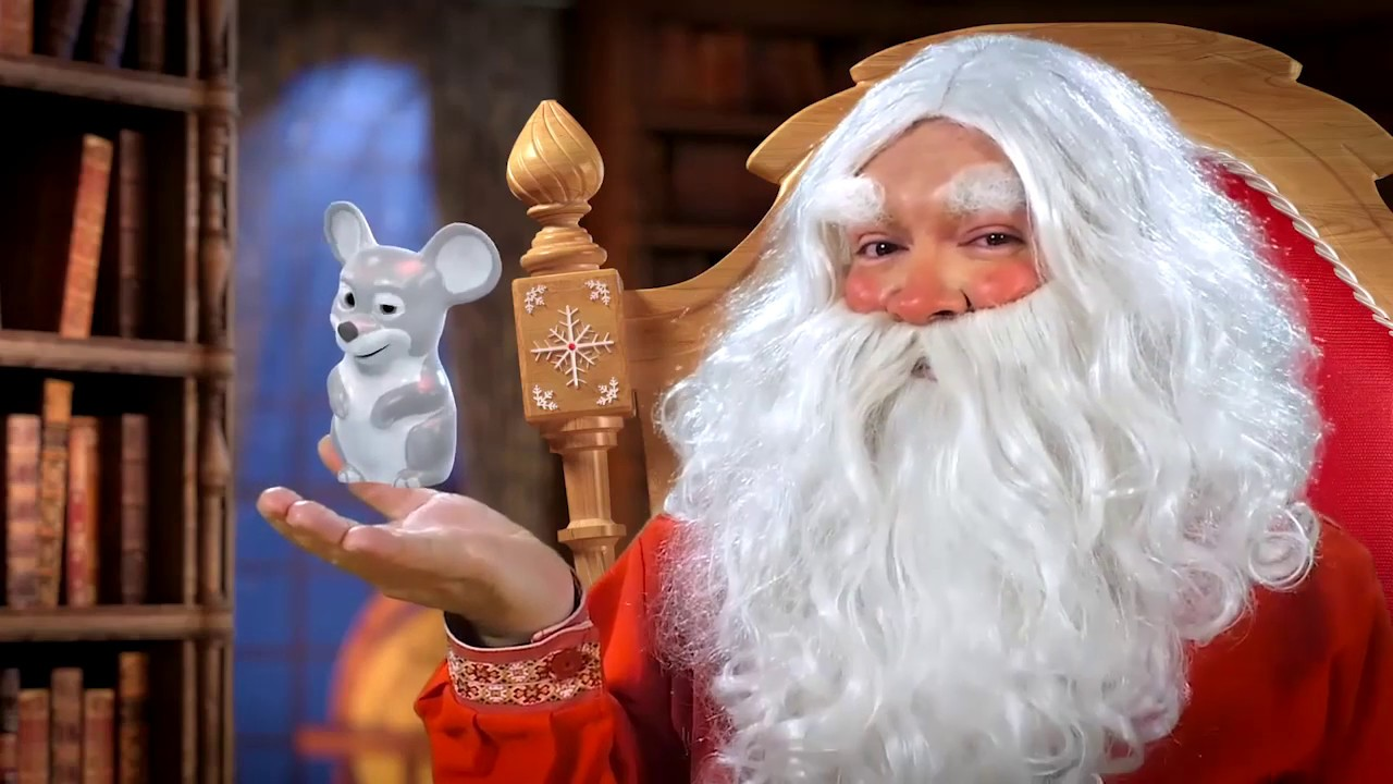 Новогоднее поздравление деда мороза мультик
