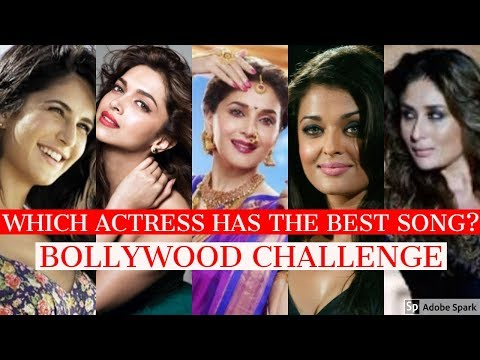 Which Bollywood Actress Has The Best Song?  Bollywood Songs Challenge  Source of Bollywood