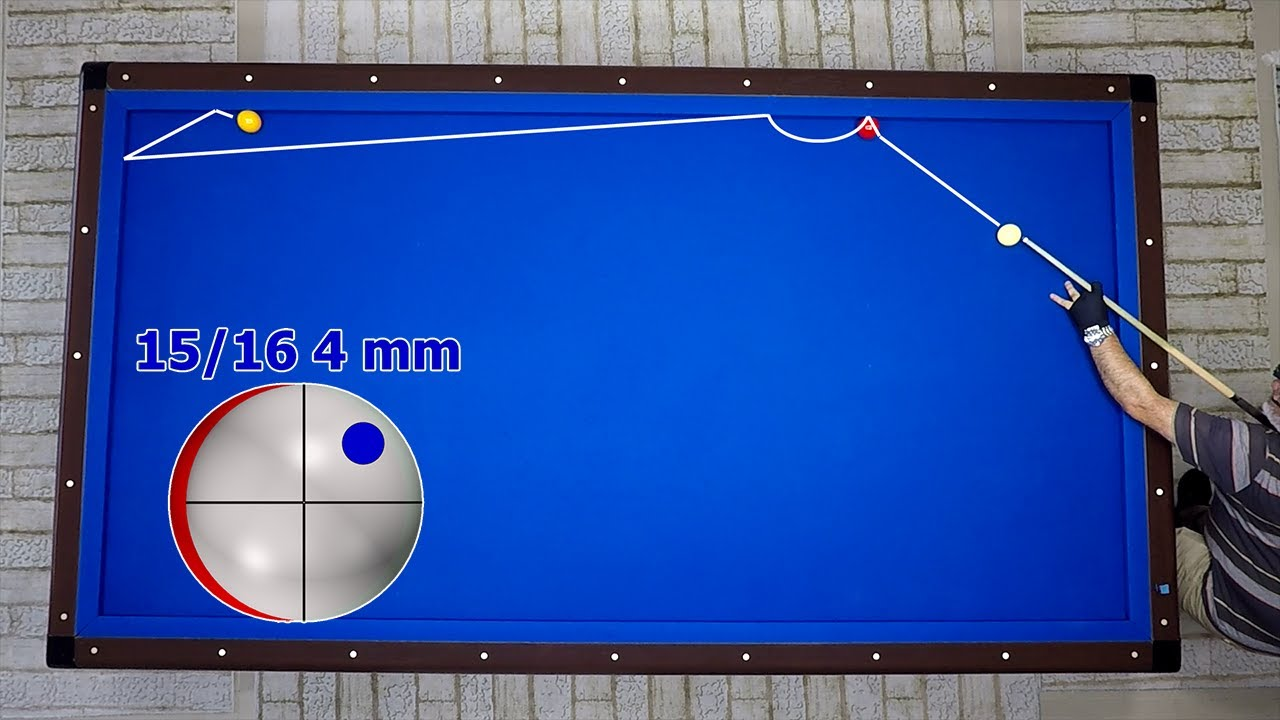 당구 | Trick Shots 3 Cushion Billiards | Bida 3c | Billar Tres Bandas
