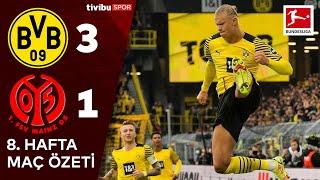 Bundesliga 8. Hafta Özet  Borussia Dortmund 3-1 Mainz