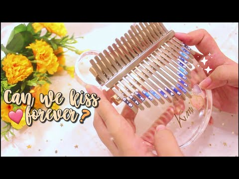 Kina - Can We Kiss Forever? ft. Adriana Proenza | Full Kalimba Cover with Tabs & Lyrics ♡