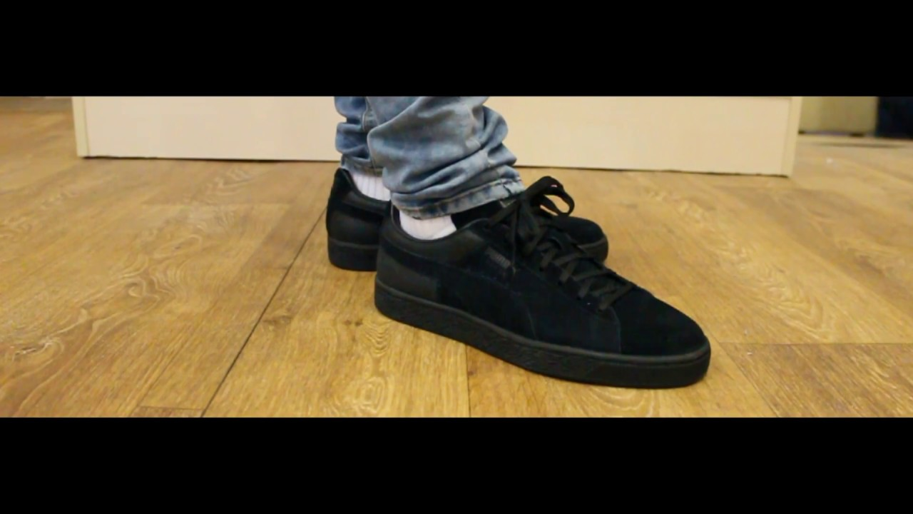brand new 20d98 c2750 Onfeet | Puma Suede Classic Casual Emboss