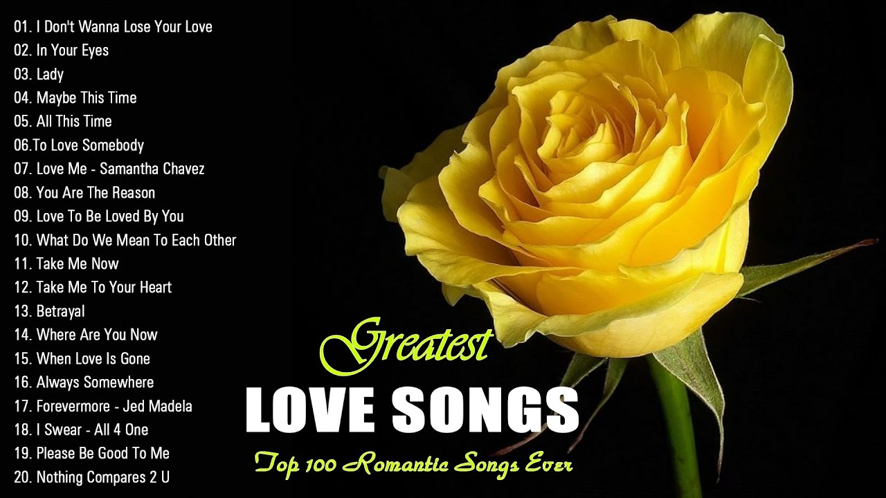 Most Old Beautiful Love Songs Of 80s 90s || Best Romantic Love Songs Of 80's and 90's