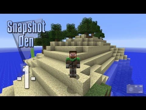 Dansk Minecraft - Snapshot Øen 1 - Lille verden (HD)