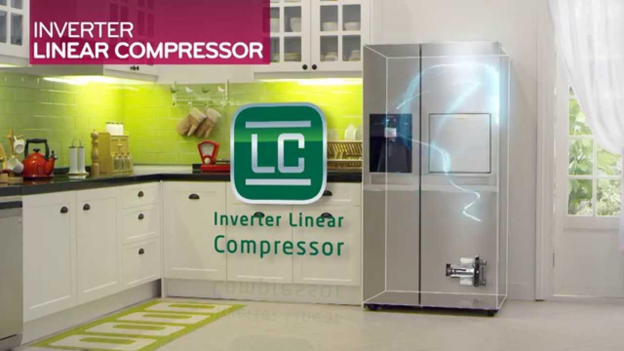 Side By Side Kühlschrank Leise : Lg side by side kühlschränke nutzen den patentierten inverter linear