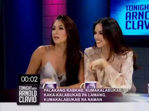 BFFs Solenn Heussaff and Georgina Wilson in tongue twister battle | Tonight with Arnold Clavio