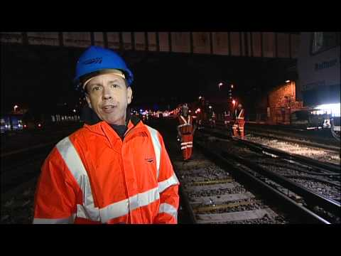 Network Rail Engineer Behind the Scenes