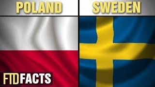 The Differences Between POLAND and SWEDEN