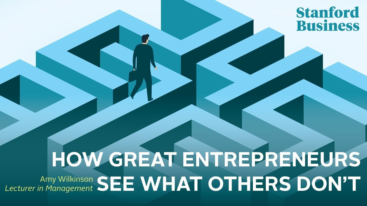 Download How Great Entrepreneurs See What Others Don't