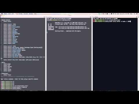 Python Celery demo