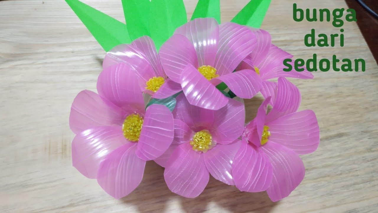 Cara Membuat Bunga Dari Sedotan By Shepty Iecha
