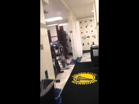 Golden State Warriors Locker Room Tour