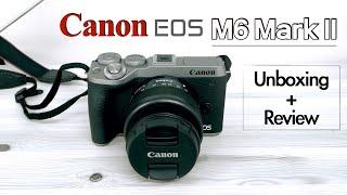캐논 EOS M6 Mark II 초 디테일 언박싱 - …