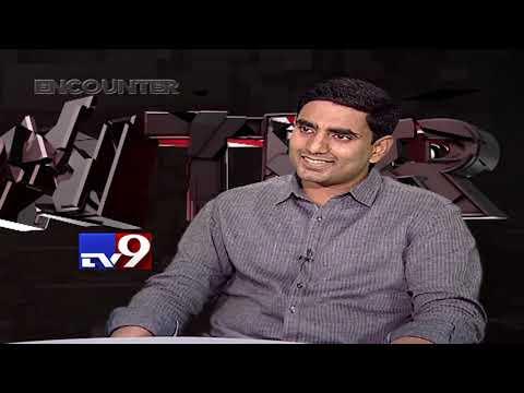 Nara Lokesh in Encounter With Murali Krishna - TV9