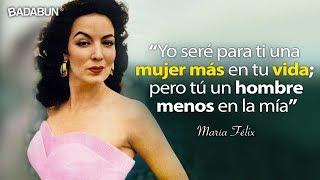 21 Frases de María Félix que toda mujer debe saber