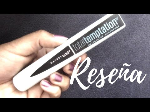 " -#reseña- -""-mascara-total-temptation""-waterproof-#review"
