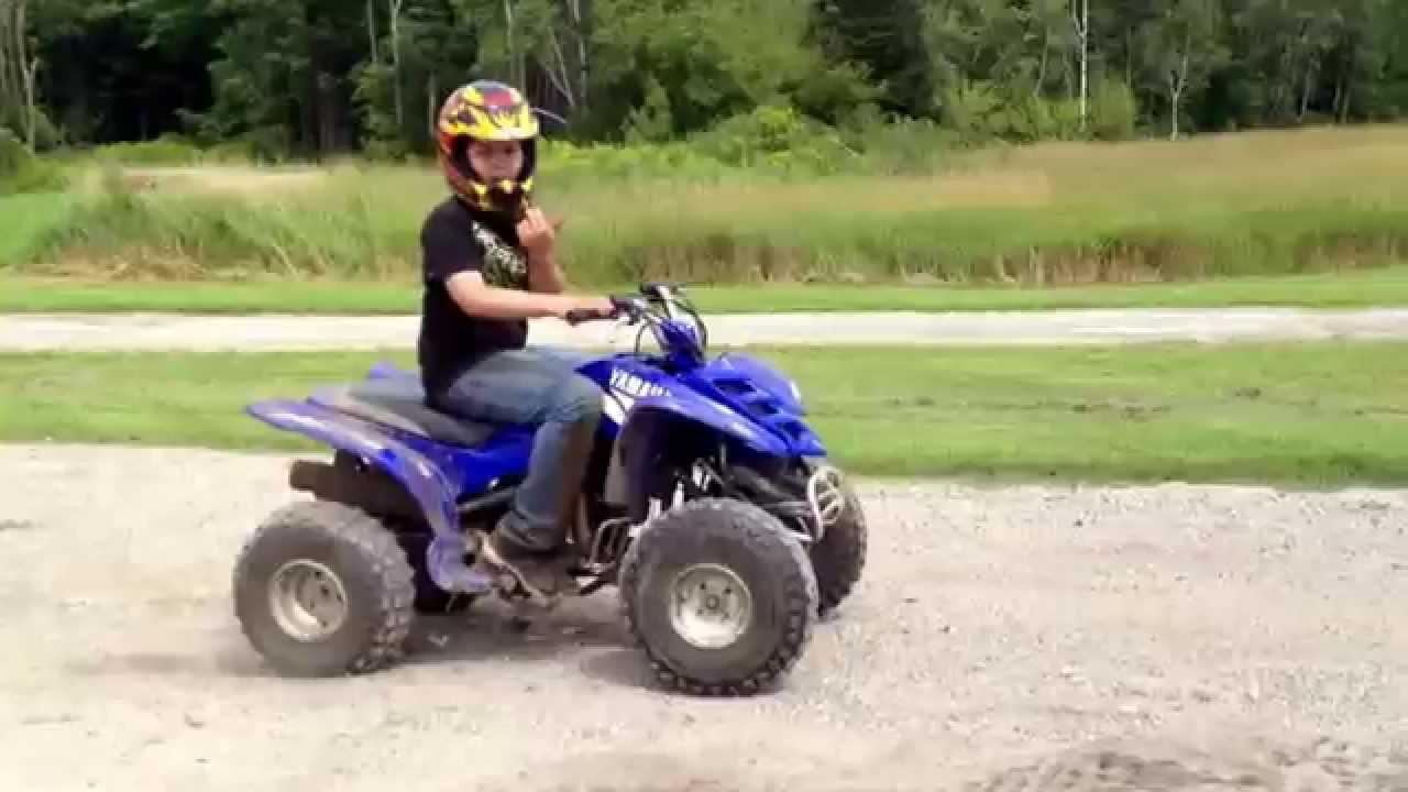 Yamaha raptor 90 pee wee jumping