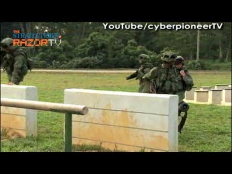 SAF New Obstacle Course
