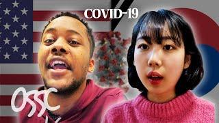 A Day in U.S. VS Korea During COVID-19 Pandemic In 2021