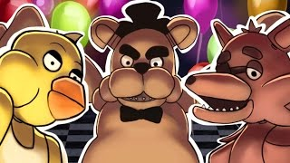five nights at freddy s animated freddy don t get me music video j squared