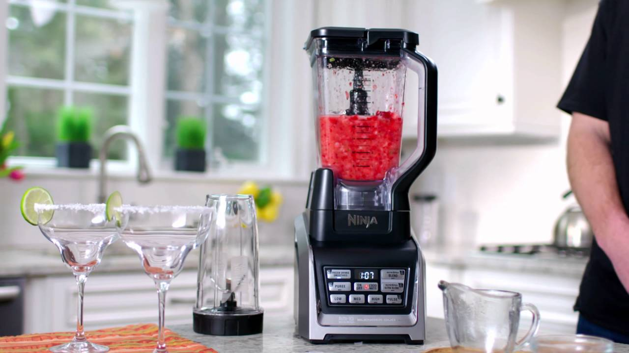 Nutri ninja blender system with auto iq technology - Nutri Ninja Ninja Blender Duo With Auto Iq Bl640 Series